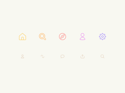 Notes Icon Cream App Icon Icon App