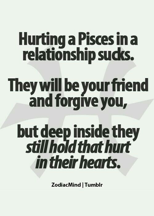 When a pisces woman is hurt