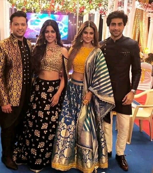 Pin by #Rose_💖 on Bepannah | Sangeet outfit, Indian ...