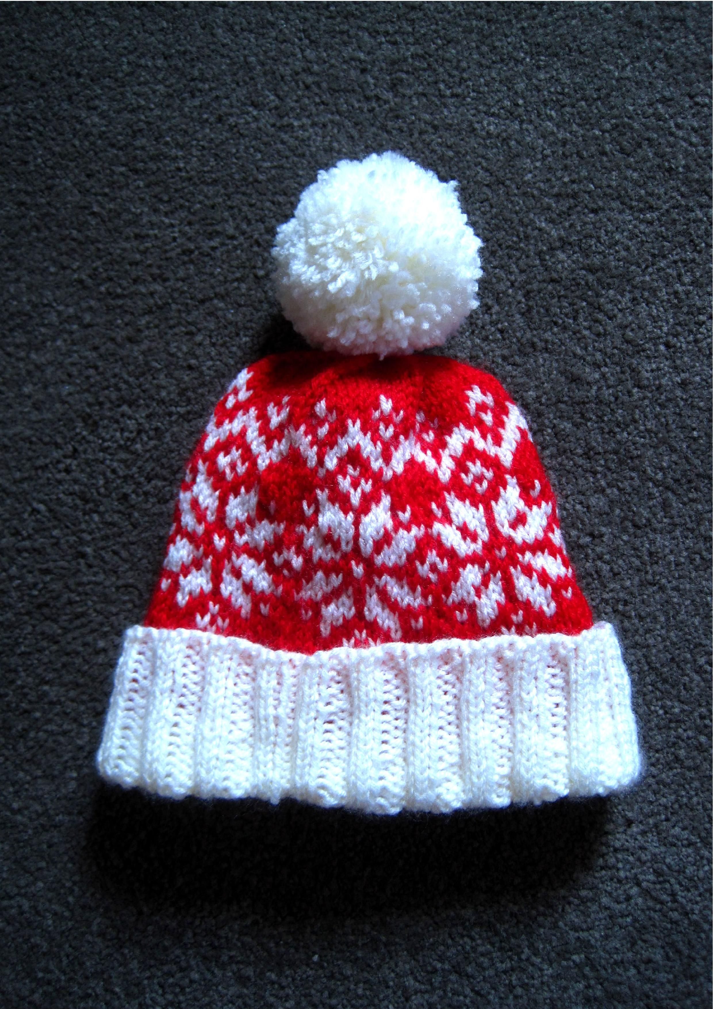 knitting pattern baby child toddler adult hat bobble hat beanie hat ...