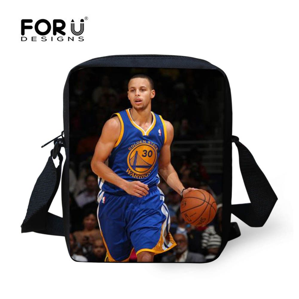 Basketball Player Kobi Curry Design Messenger Bag For Adults Teenagers Bridal & Wedding Party Jewelry