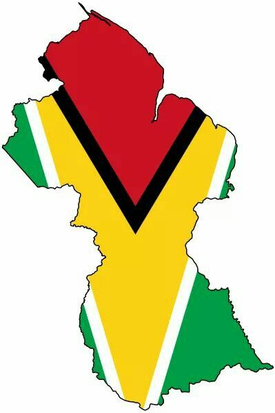 I Want The Guyana Map With The Flag S Color For A Tattoo Guyana Tattoo Blue Poster South America Map
