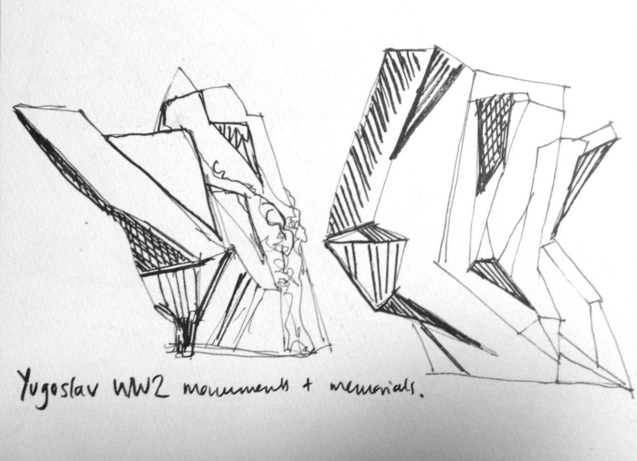 Sketches by Naomi Ellis