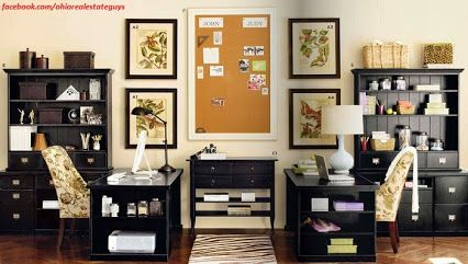 Home Office Ideas: We Love This His/her Home Office Design By IKEA.