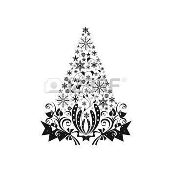 Immagini Natale In Bianco E Nero.Natale Bianco E Nero Foto Royalty Free Immagini Immagini E Archivi Fotografici Bianco E Nero Natale Sfondo Bianco