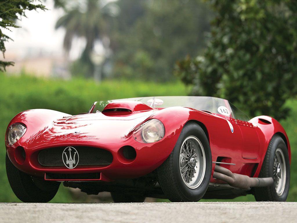 1956 Maserati 450S Prototype от Fantuzzi
