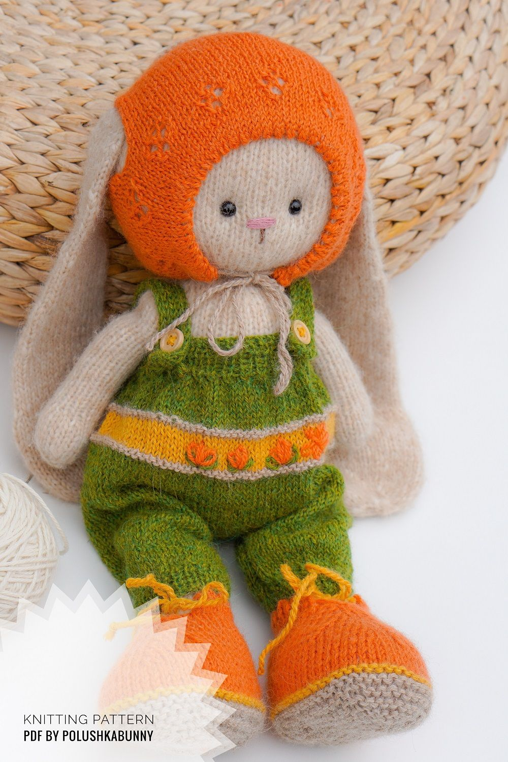 Doll clothes patterns PDF Outfit Cozy for Bunny toy by ...
