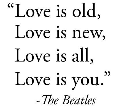 Beatles Love Quotes Cool Love Is All You Need The Beatles Love Quote Music Music Movies