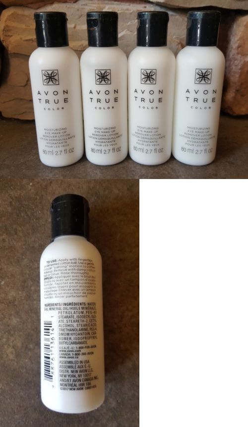 Lot Of 4 Avon Moisturizing Eye Makeup Remover Lotion Brand New