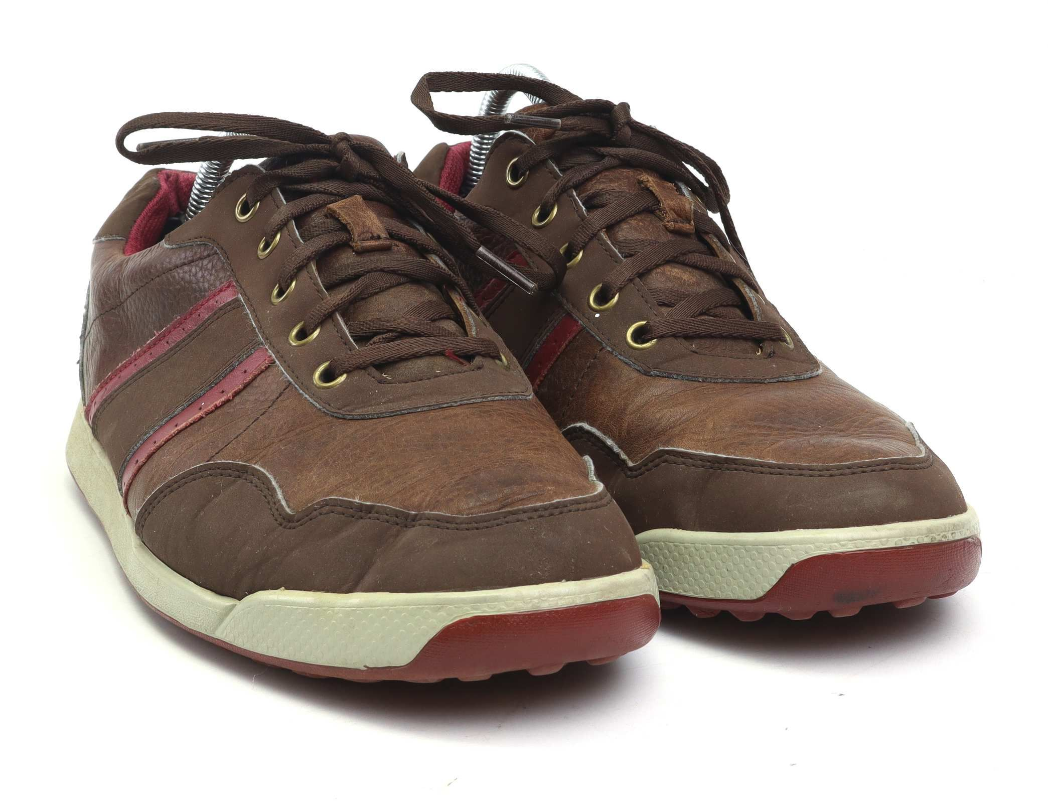 Footjoy Mens UK Size 9 Brown Red Faux
