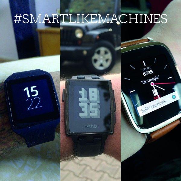 Die Uhr und Ich. Ein Wochenende lang Smartwatch-User.