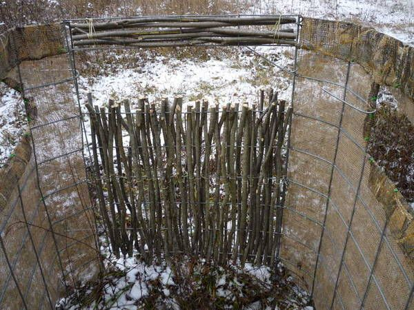 Cattle Panel Burlap And Willow For A Quick Ground Blind