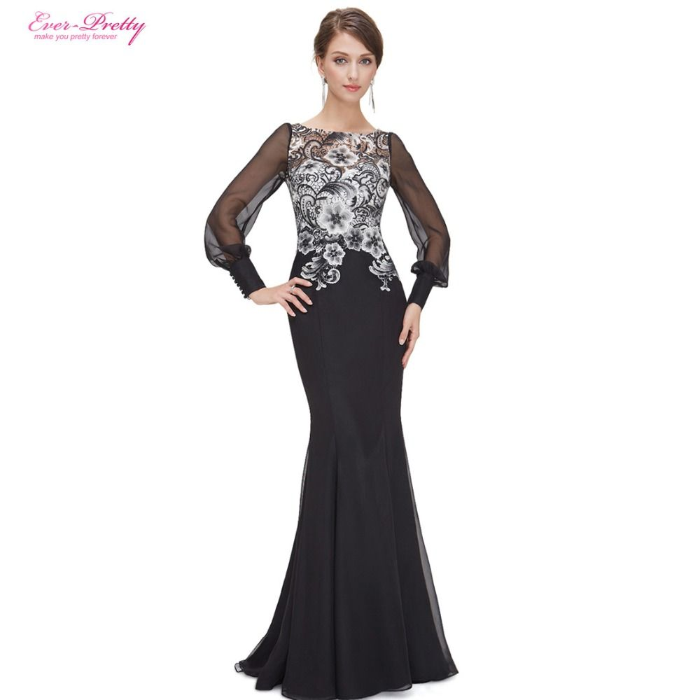 Evening Dresses Ever-Pretty HE08363 New Arrival Women Elegant Lacy ...