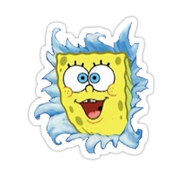 Also Buy This Artwork On Stickers Stickers Pinterest - Spongebob macbook decal