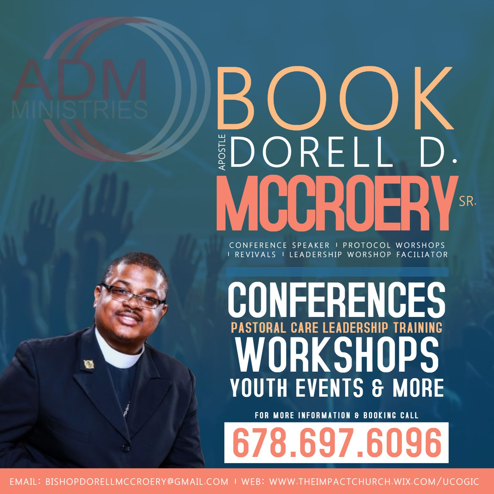 Church Workshop Conference Event Flyer Template  Church Event
