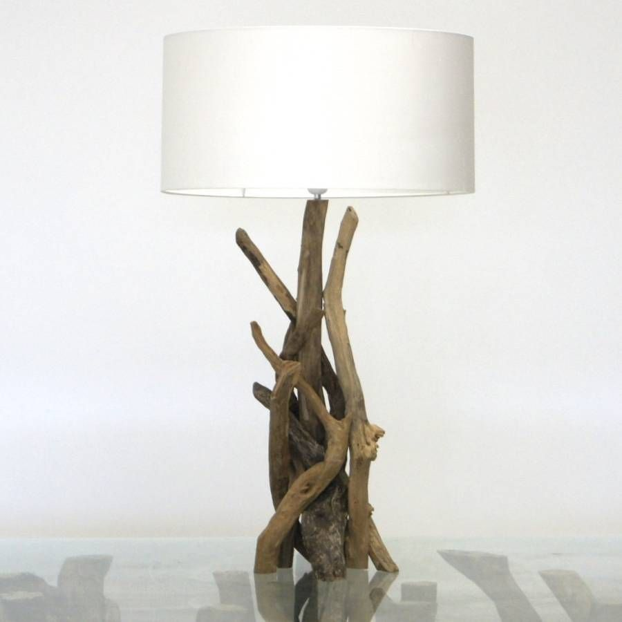 Fabulous Branched Driftwood Lamps