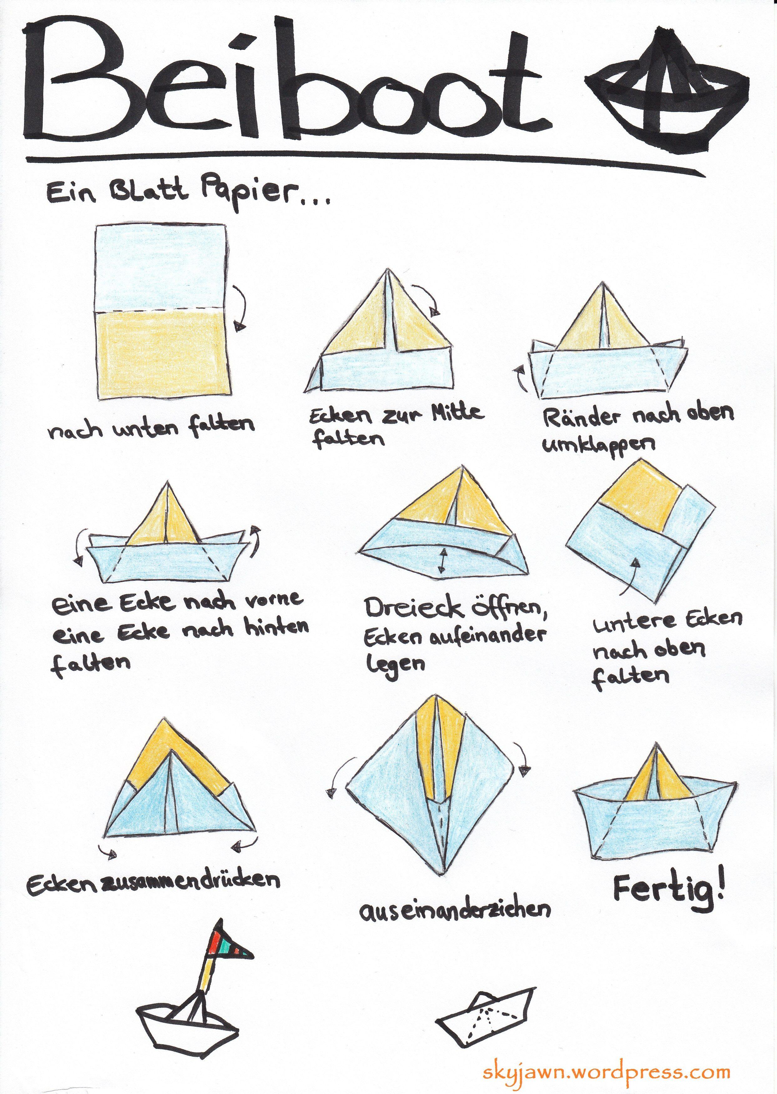 Bildergebnis Für Boote Basteln Malen Mit Füssen Boot Basteln