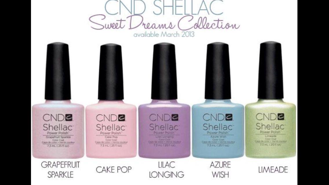 Nieuwe kleuren shellac!