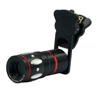 UCCL01 Portable Clip-On Camera Lens (Black)