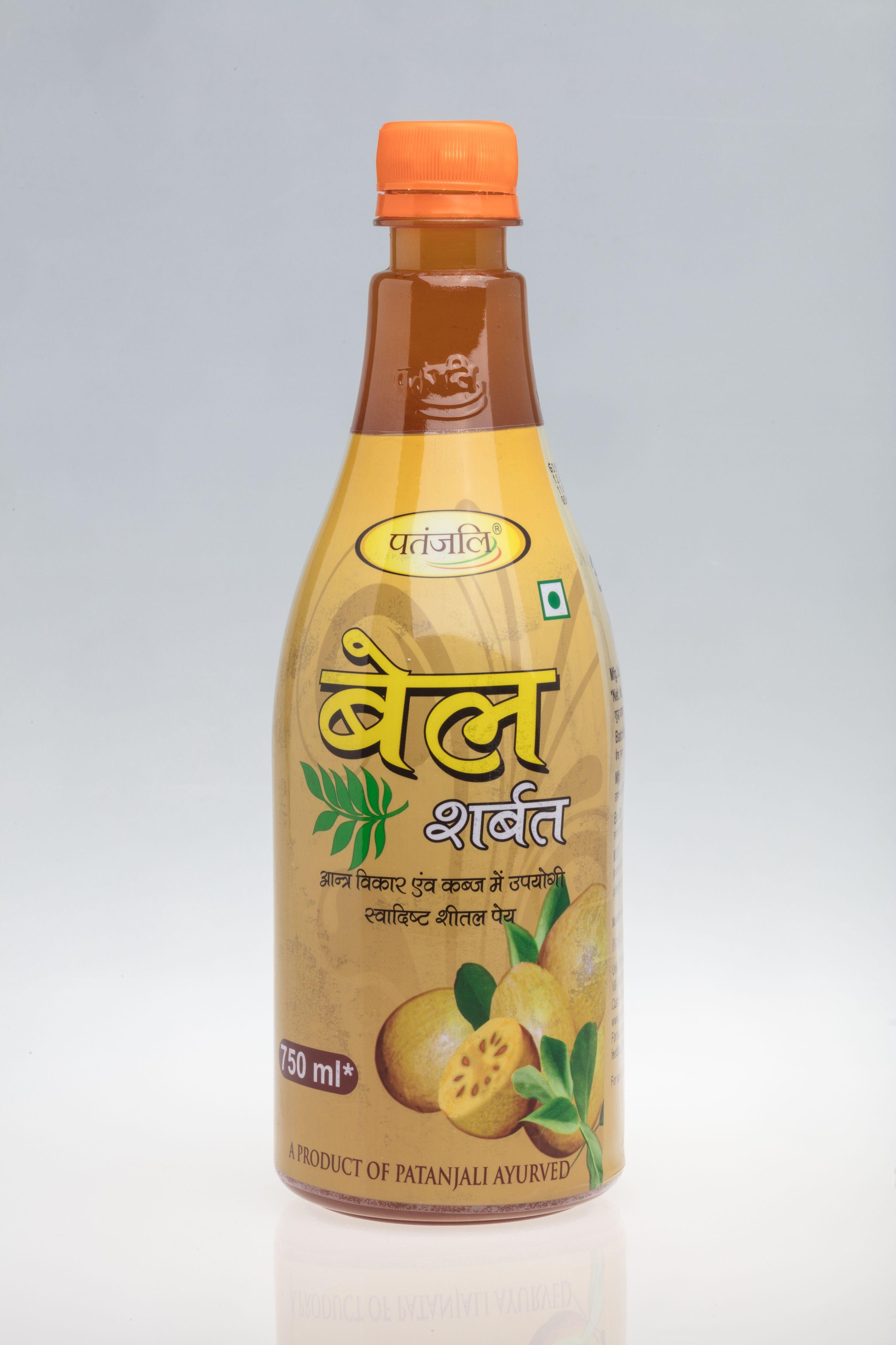 Bel Sharbat 750 ml  A product of Patanjali Ayurved  Ayurvedic
