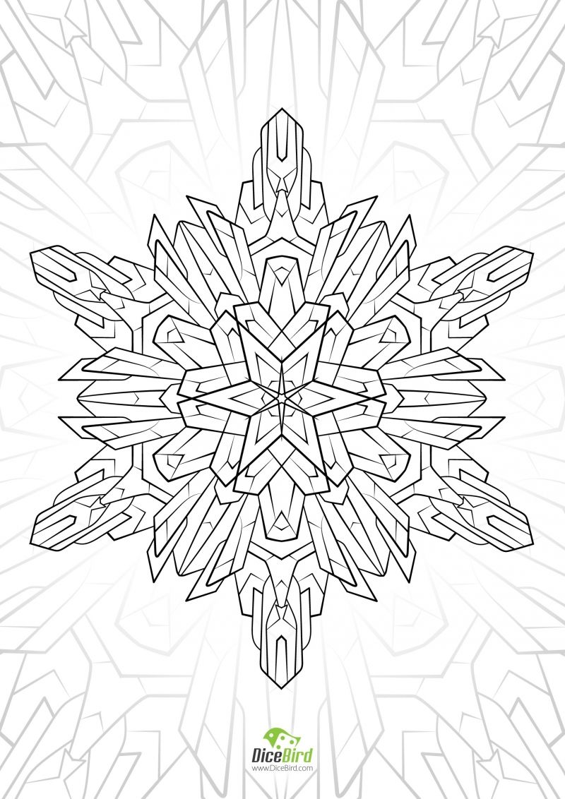 dicebirdcom nbspdicebird resources and information cool coloring pagesmandala - Cool Coloring Books