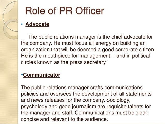 pr manager job description - Google Search Inspiration - public relations job description