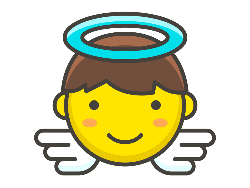 Baby Angel Emoji Png Transparent Emoji Freepngimage Com Free Baby Stuff Angels Logo Baby Angel