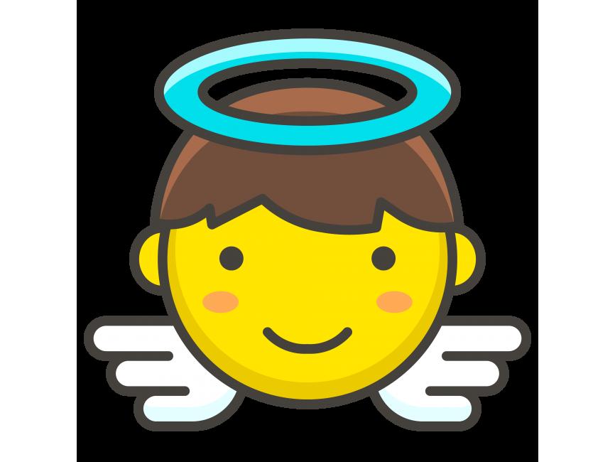 Baby Angel Emoji Png Transparent Emoji Freepngimage Com Free Baby Stuff Angels Logo Baby Angel