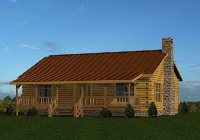 Single Story Log Homes Floor Plans & Kits Battle Creek Log Homes