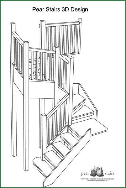 Best High View American White Oak Stairs Design Oak Stairs 400 x 300