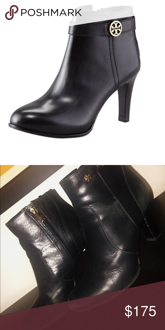 7d8a2409af5e3 TORI BURCH BRISTOL BOOTIES - SIZE 7 Authentic Tory Burch Bristol bootie in size  7. In used condition. Black leather. Tory Burch Shoes Ankle Boots   Booties