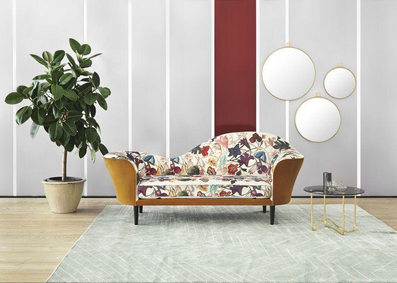 GUBI    Grand Piano sofa in Velluto di Cotone 321 and Dedar About - küche weiß braun