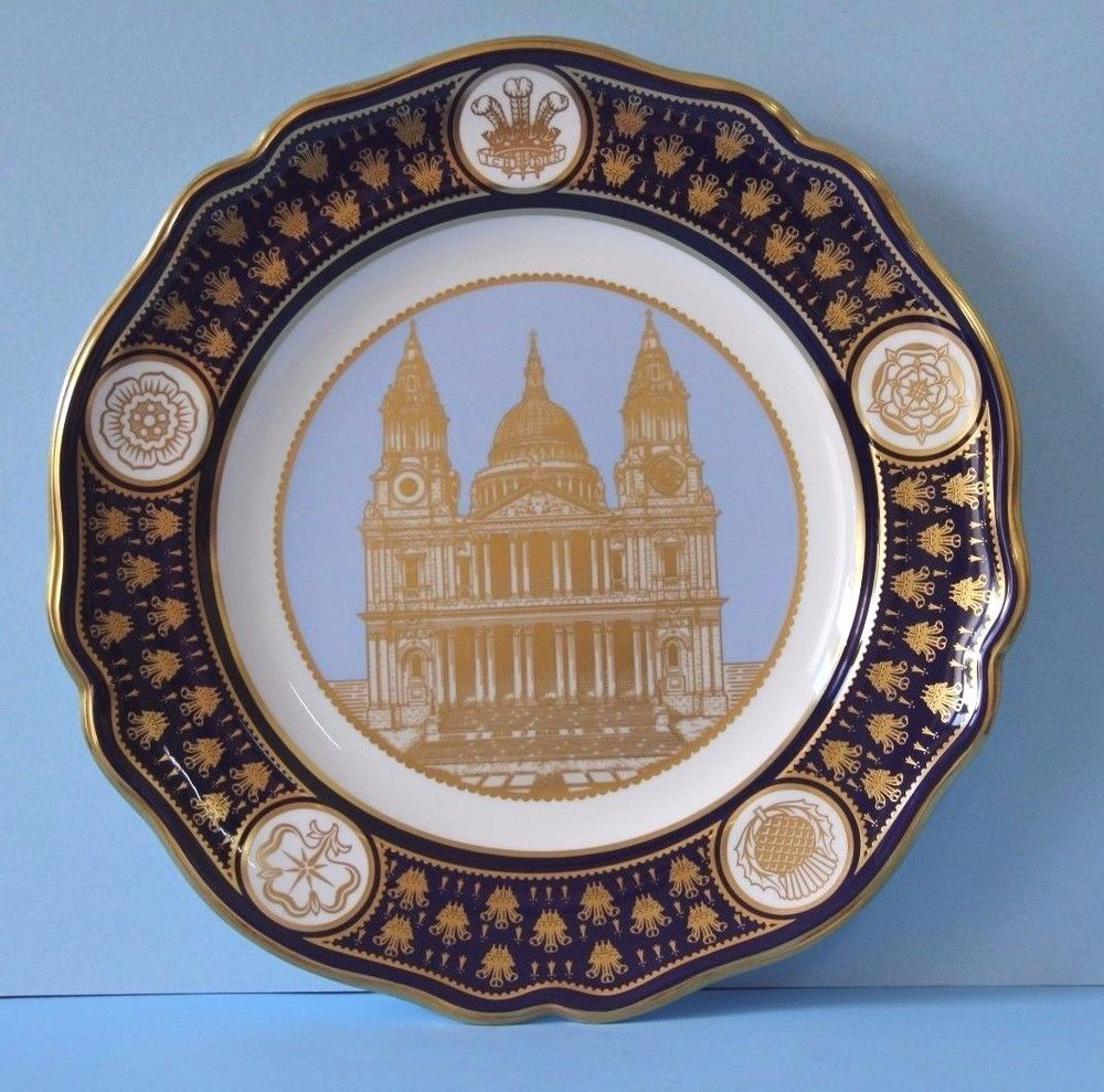 SPODE The St. Paul's Cathedral Royal Wedding Plate