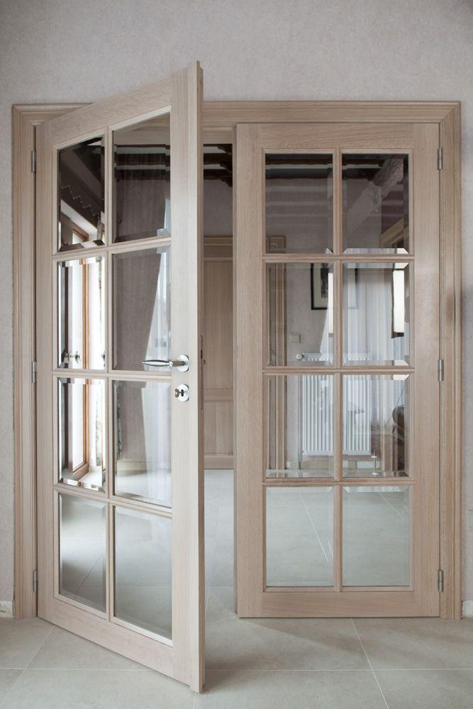 Binnendeur Glas Google Zoeken Binnendeuren Deurbeslag
