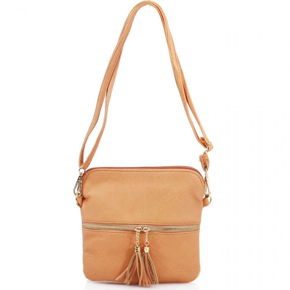 07396b58a543 Details about Ladies Tassel Small Mini Cross Body Bags Girls Women ...