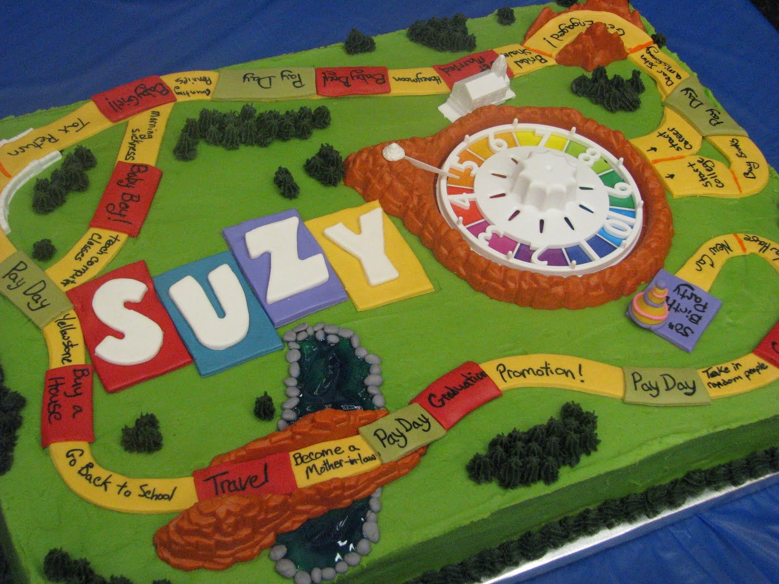 Bake Me A Cake The Game Of Life Cake With Images No Game