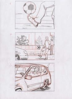Europen reklam filmi storyboard 1