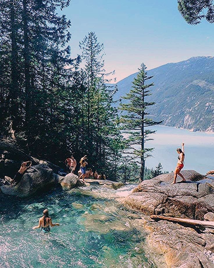 Photo of This Stunning Waterfall And Swimming Hole In BC Is The Ultimate Summer Hangout Spot