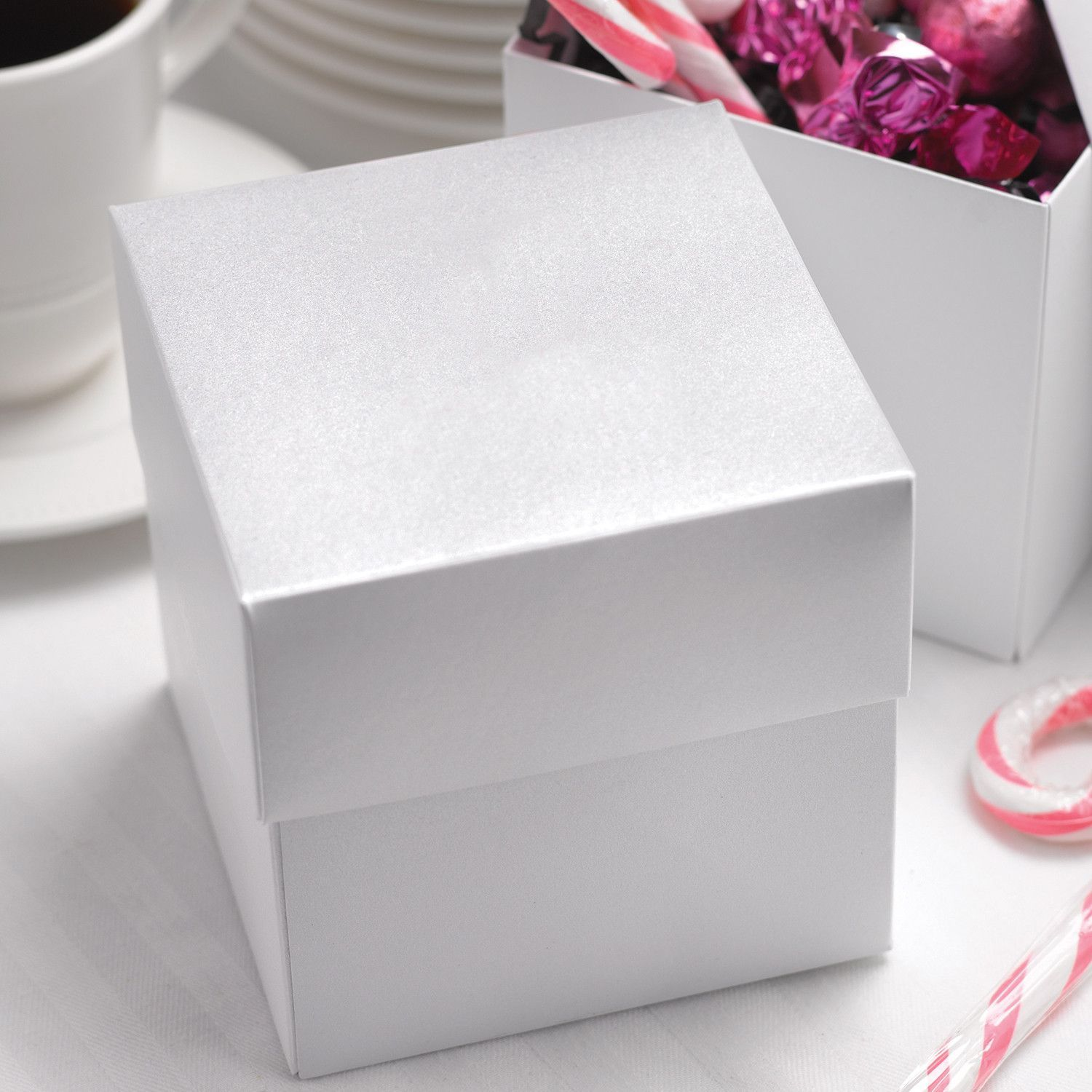 Two Piece Cupcake Favor Box | Cupcake boxes, Box and Products