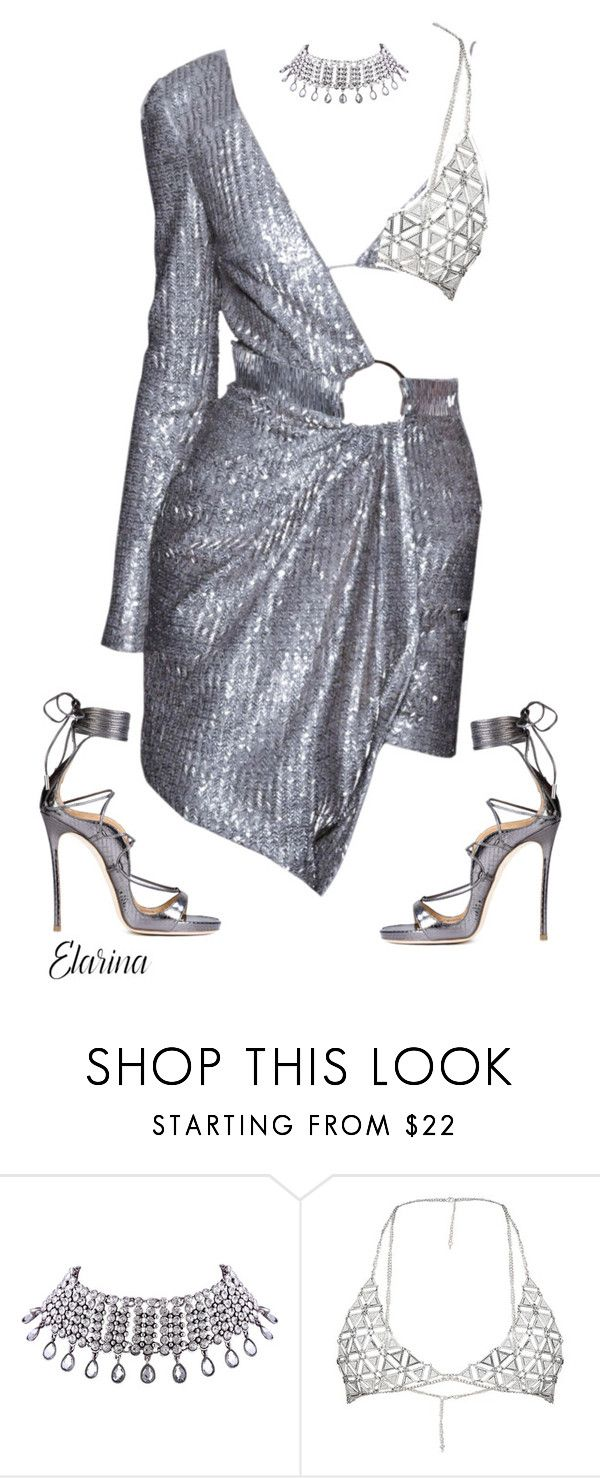"""""""Untitled #175"""" by elarina ❤ liked on Polyvore featuring WithChic and Dsquared2"""