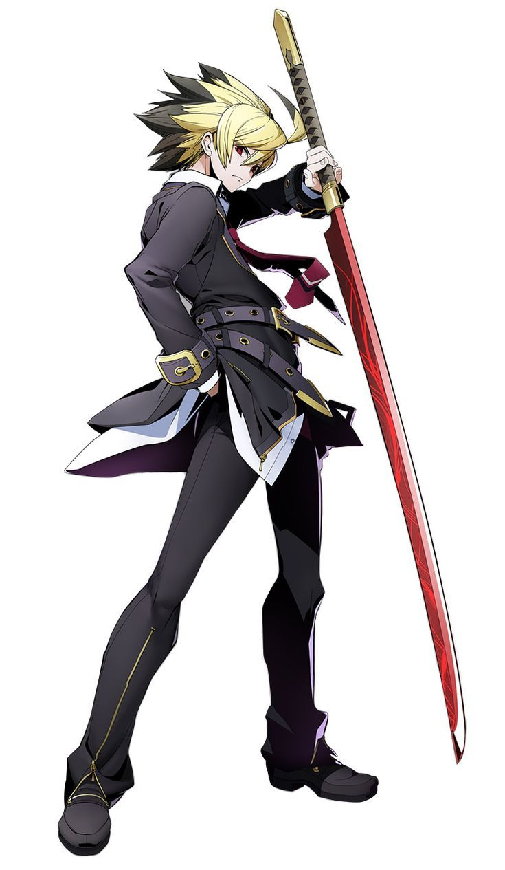 Hyde from blazblue cross tag battle fantasy character