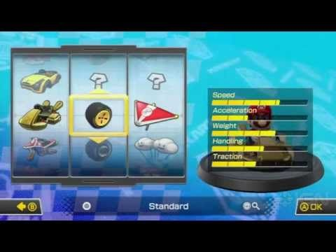 Mario Kart 8 How To Unlock The Gold Kart Gold Wheels Gold Glider Mario Kart Mario Kart 8 Mario