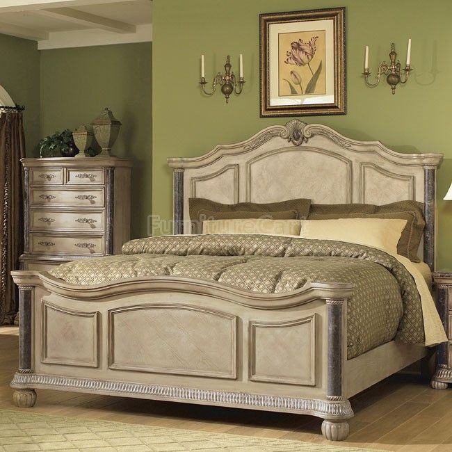Catalina Panel Bed White Bedroom Sets Furniture King Bedroom Green Bedroom Furniture For Sale