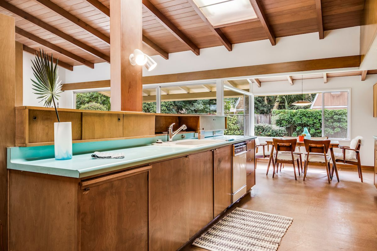 Architect Paul Tay, midcentury modern original kitchen ...