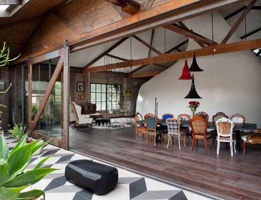 Chique Industriele Keuken : De chique industriële keuken van jean connie architecture
