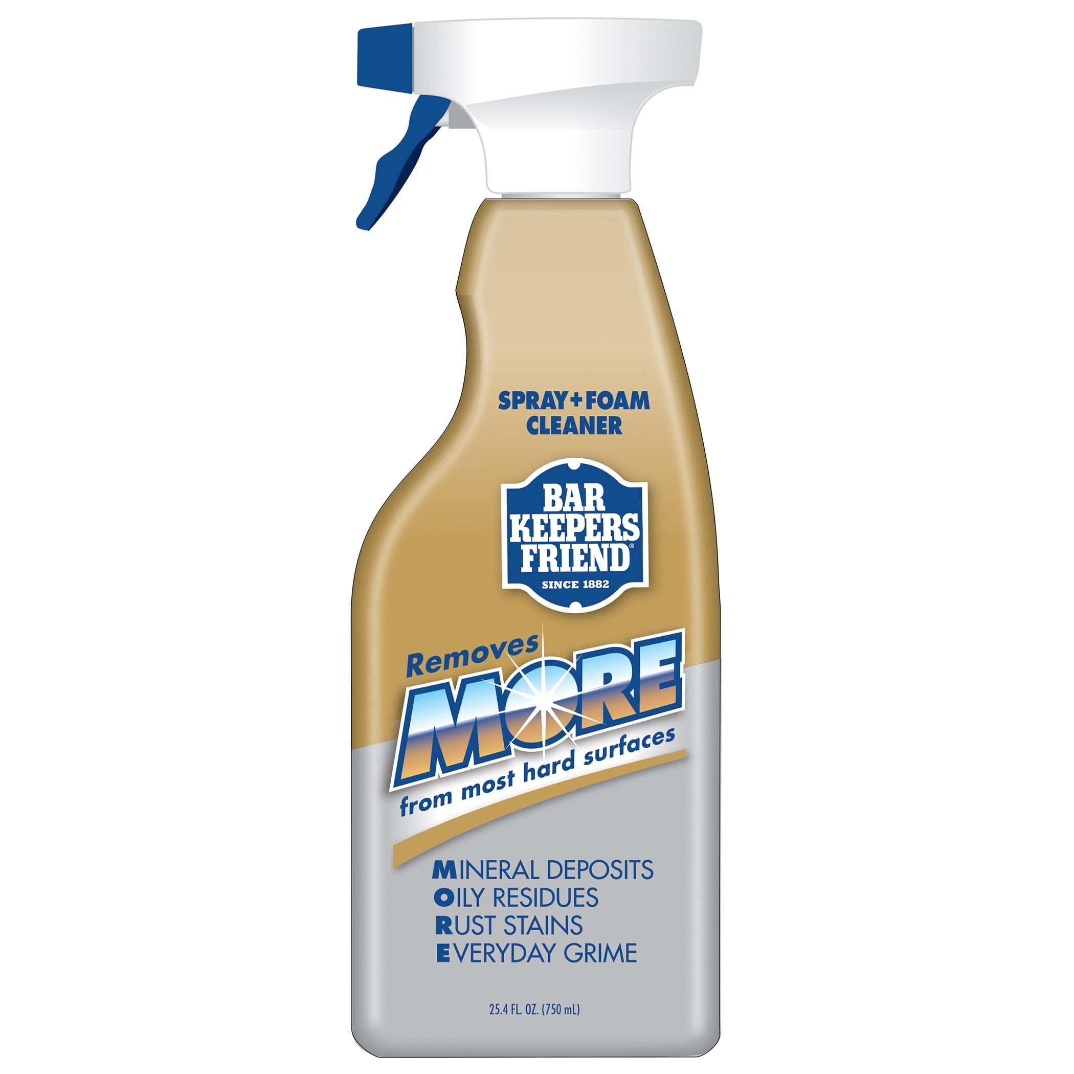 Bar Keepers Friend 11727 25 4 Oz More Spray Foam Cleaner Life  # Alfombras Y Muebles Power Espray