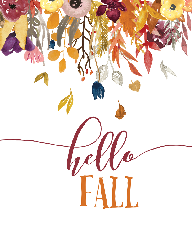 Beautiful Printable Fall Decor- 4 Designs - landeelu.com