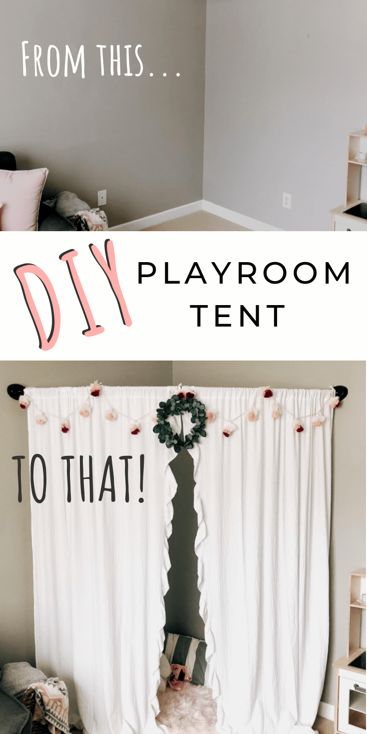 Adorable (And Simple!) DIY Playroom Tent images