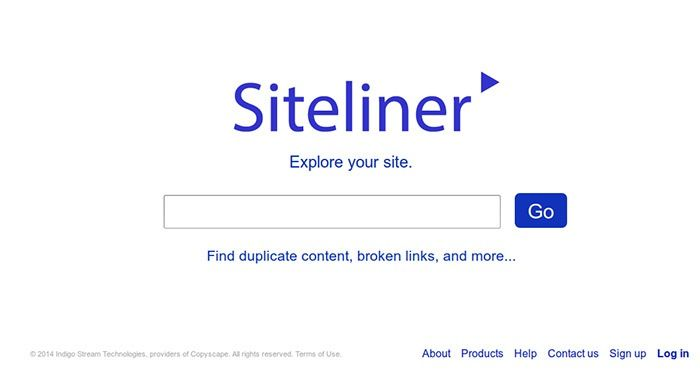 siteliner crawls through your site and generate reports on