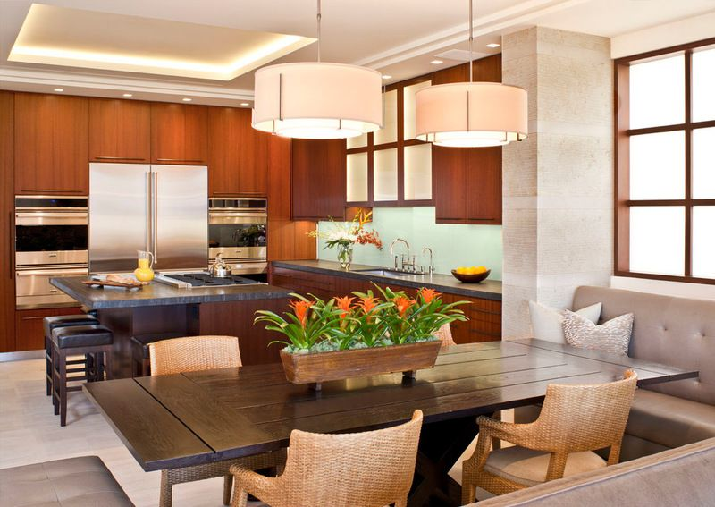 Contemporary Dining Room By Prestige Builders BromeliadsBromeliads DesignHomesweethome Interior